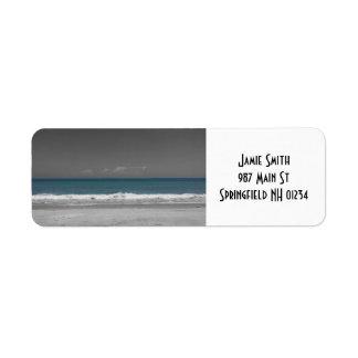 Nature's Color: Ocean Return Address Labels