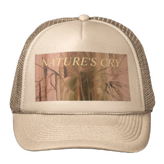 NATURE'S CRY 2 TRUCKER HAT