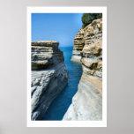 Natures Cut - Corfu Island Seascape Posters