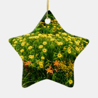 Natures Garden Christmas Ornament