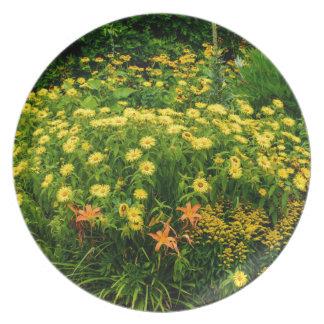 Natures Garden Plate