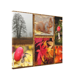 Natures Gift Collage Canvas Print