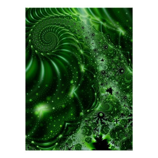 Nature's Magic Poster