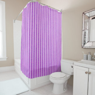 "'Nature's Own"" Eggplant Shower Curtain"