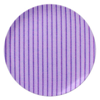 """Nature's Own"" Eggplant*Wide Stripes Plates"