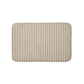 """""""Nature's Own"""" Wood Grain-Pillow Tick Bath Mat"""