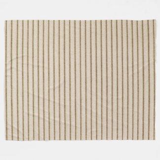 "Nature's Own"" Wood_Ticking (c)-large Fleece Blanket"