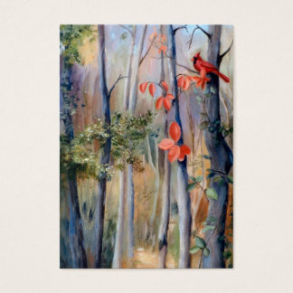 Natures Path Cardinal Art Card