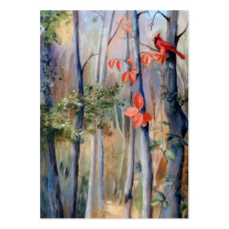 Natures Path Cardinal Art Card Pack Of Chubby Business Cards