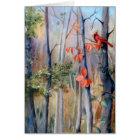 Natures Path Cardinal Blank Card