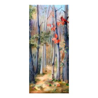 Natures Path Cardinal Bookmark Personalized Rack Card