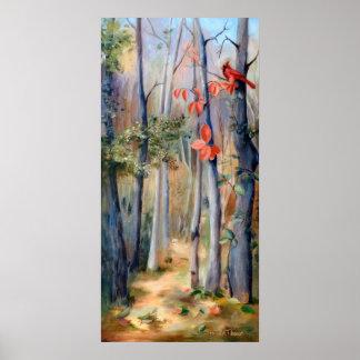 Natures Path Cardinal Poster