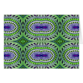 natures pattern greeting card