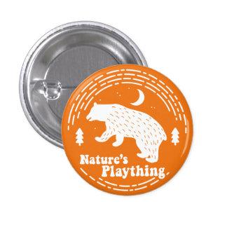 Nature's Plaything // Bear Pin (Orange)