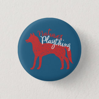 Nature's Plaything // Fox Pin