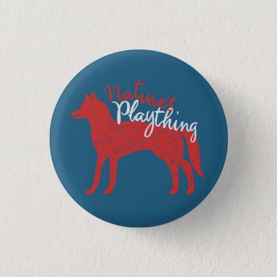 Nature's Plaything // Fox Pin