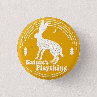 Nature's Plaything // Hare Pin (Yellow)