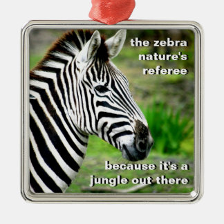Nature's Referee Christmas Ornament