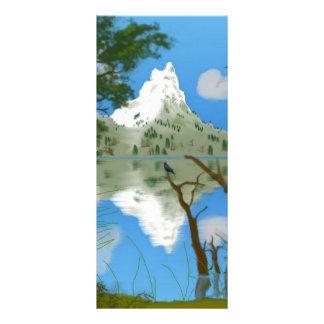 Natures Reflections Custom Rack Card