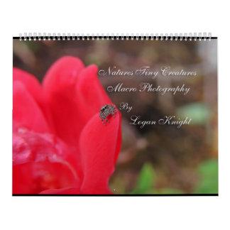 Natures Tiny Creatures Macro Photography Wall Calendar