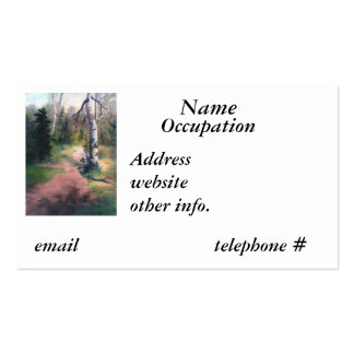 Nature's Trail Business Card