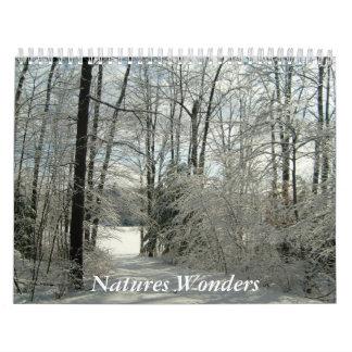 Natures Wonders-Calendar Wall Calendars