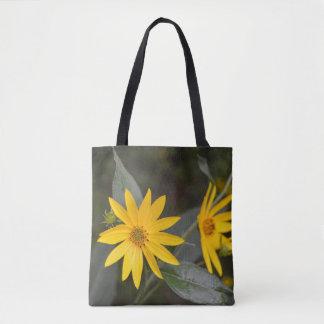 Nature's Yellow Wildflowers Tote Bag