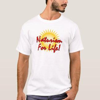 Naturist - Naturism For Life T-Shirt