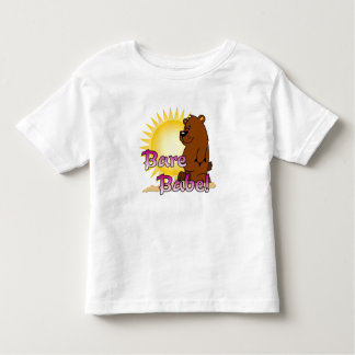 Naturist/Nudist, Bare Babe Toddler T-Shirt