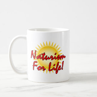 Naturist/Nudist Coffee Mug