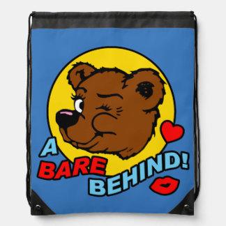 Naturist Nudist Drawstring Bag