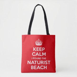 Naturist Nudist Tote Bag