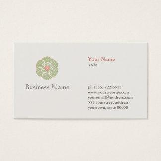 Naturopath Natural Holistic Health Healer Business Card