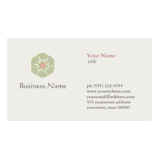 Naturopath Natural Holistic Health Healer Pack Of Standard Business Cards