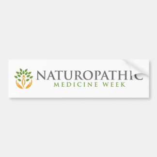 Naturopathic Medicine Week Bumper Sticker