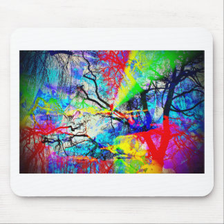 Natut abstract 3 mouse pad