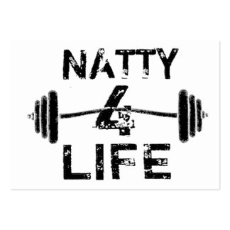 Naty 4 Life Logo Wear Pack Of Chubby Business Cards