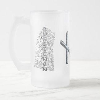 Naudhiz rune mug