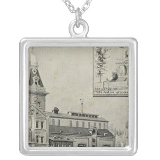 Naugatuck Val Brewery Silver Plated Necklace