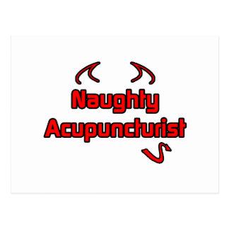Naughty Acupuncturist Postcard