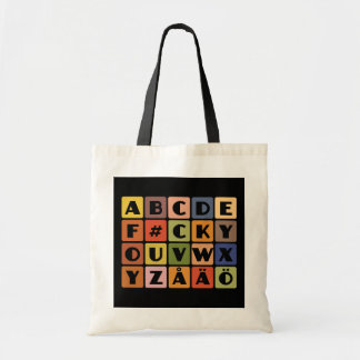 Naughty Alphabets bag– choose style & color Tote Bag