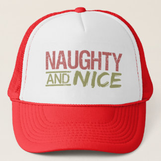Naughty AND Nice hat - choose color