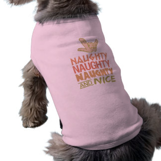 Naughty AND Nice pet clothing