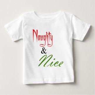 Naughty and Nice Tee Shirts