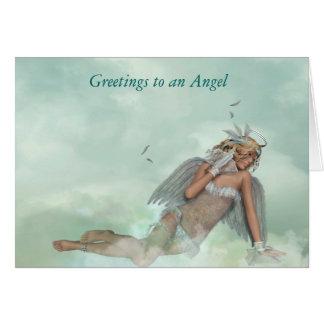 Naughty Angel Greeting Card