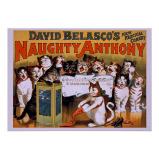 Naughty Anthony - Theater Poster