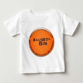 Naughty Bits Badge Baby T-Shirt