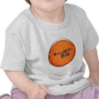 Naughty Bits Badge T-shirts