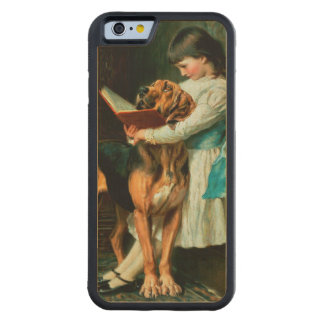 Naughty Boy or Compulsory Education Carved Maple iPhone 6 Bumper Case