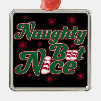 Naughty But Nice Christmas Ornament